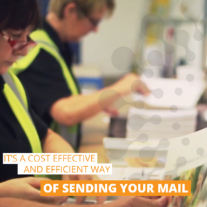 it's a cost effective and efficient way of sending your mail.