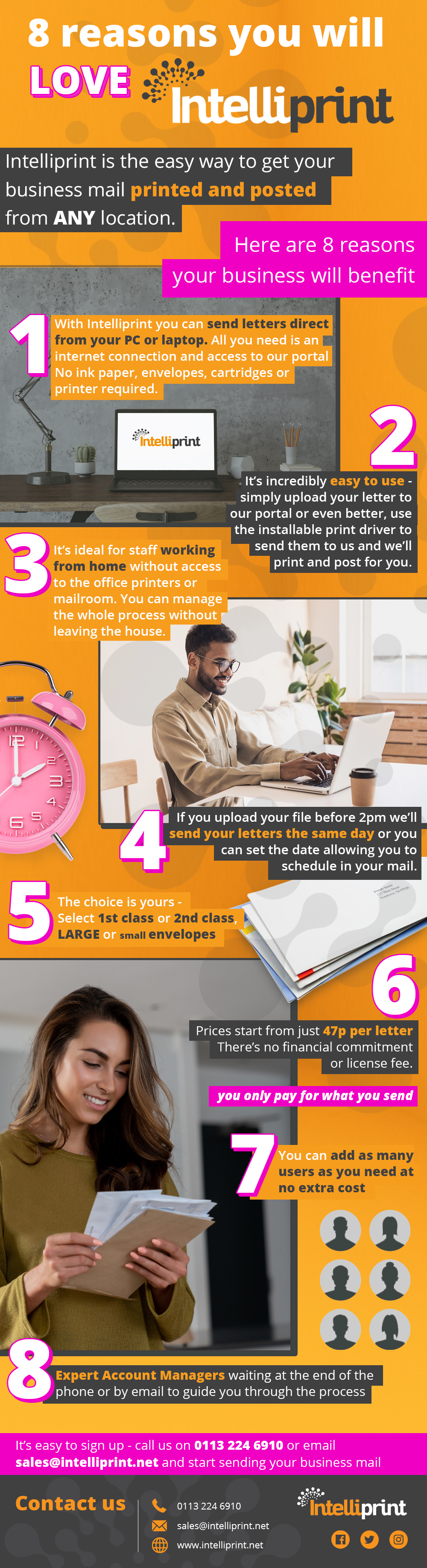 8 reasons to print and post your mail online